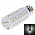 YN-YM-41P E27 6W 820lm 6000K 41 x SMD 5050 LED White Light Corn Light - White + Silver (220V)
