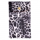 Fashionable Leopard Print Lady Fashion Bag - Black + White