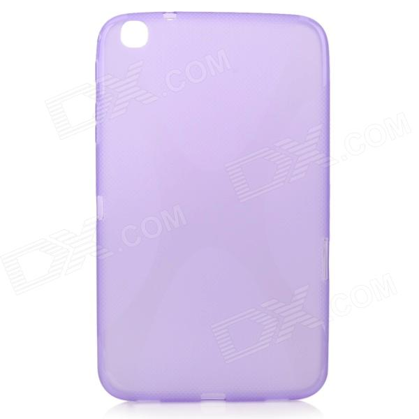 """X"" Style Anti-Slip Protective TPU Case for Samsung Galaxy Tab 3 8.0 T310 / T311 / P8200 - Purple"