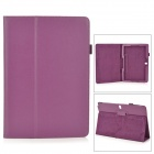 Stylish Flip-open PU Case w/ Holder + Pen Space for Samsung Galaxy Note 12.2 P900 - Purple