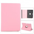Stylish Flip-open PU Case w/ 360' Rotating Back for Samsung Galaxy Note 12.2 P900 - Pink