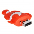 Cute Cartoon Fish Style USB 2.0 Flash Drive Disk - Red + White (16GB)