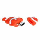 USB lindo estilo de dibujos animados de pescado 2.0 Flash Disk Drive - Red + White (8GB)