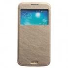 KALAIDENG Protective PU Leather Case Cover Stand for Samsung Galaxy Grand 2 G7106 - Golden