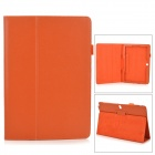 Stylish Flip-open PU Case w/ Holder + Pen Space for Samsung Galaxy Note 12.2 P900 - Orange