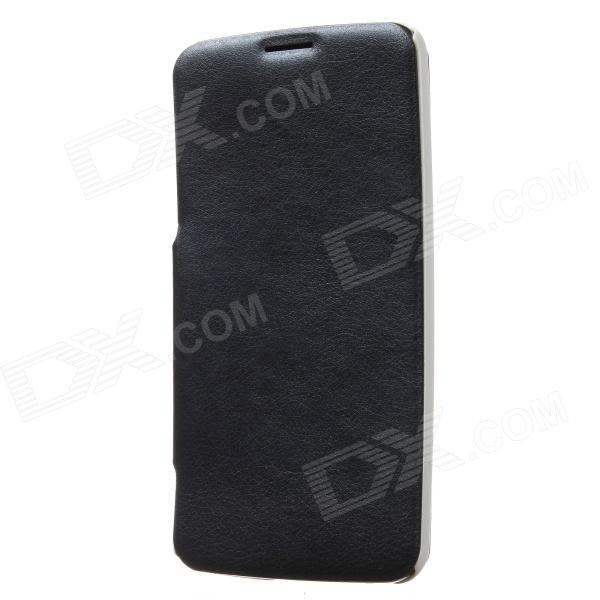 KALAIDENG Protective PU Leather Case Cover Stand for LG G Flex D958 - Black