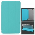 "Stylish Flip-open PC Back Case w/ 3-fold PU Cover / Holder for Samsung Galaxy Tab Pro 8.4"" T320"