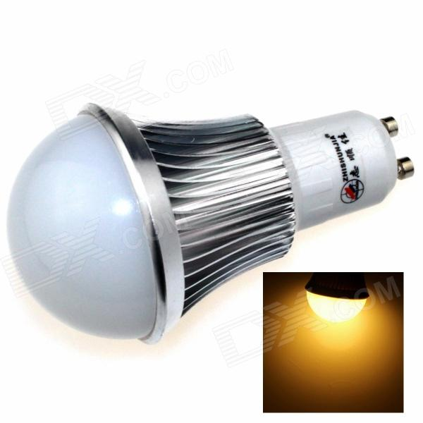 ZHISHUNJIA GU10 8W 680lm 3000K 16 x SMD 5630 LED Warm White Light Bulb - Silver + White (85~265V)