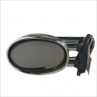 006C Auto Lamp Rearview Mirror with 6-LED Light - Silver (12V / 2 PCS)