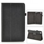 "Flip-open PU Leather Case w/ Holder + Pen Space for Samsung Galaxy Tab Pro 8.4"" T320 - Black"
