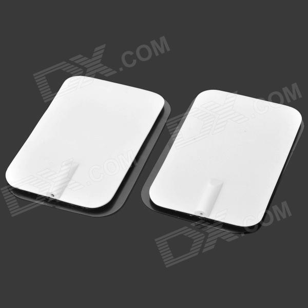 CN-916 Weight Reducing Apparatus Massage Pad - White + Black (2 PCS / AC 220V)