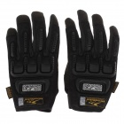 Mad Bike MAD-11 Bike Professional Full-Finger Racing Gloves w/ Touch Screen - Black (Size-L)