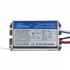 DIY SQ-082 AC 220-240V 2-Channel Digital interruptor de control remoto
