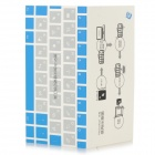 ZZCP Photoshop Shortcuts Keyboard Sticker for PC / Laptop - White + Black