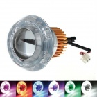 ARTIFACT SQ-07 30W 1200lm 3-Mode 7-CREE XM-L U2 Blue Light Motorcycle LED Light - (12~80V)