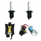 Eastor H7 55W 3200lm 4300K HID Light White Light HID Xenon Lamps Ballasts Kit - (Pair)