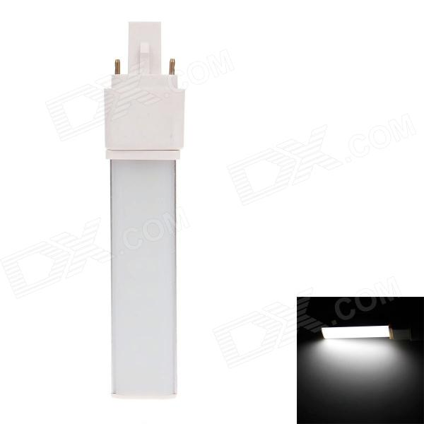 YN-HC-16P G24 8W 320lm 6500K 16 x SMD 5730 LED White Light Home Furnishing Lamp w/ Milky White Cover