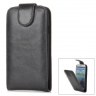 Protective PU Leather Case for Samsung i9300 - Black