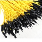 ZnDiy-BRY 1-Pin Male to Female DuPont Wire Connector Cables for Arduino - Yellow (20cm / 200 PCS)