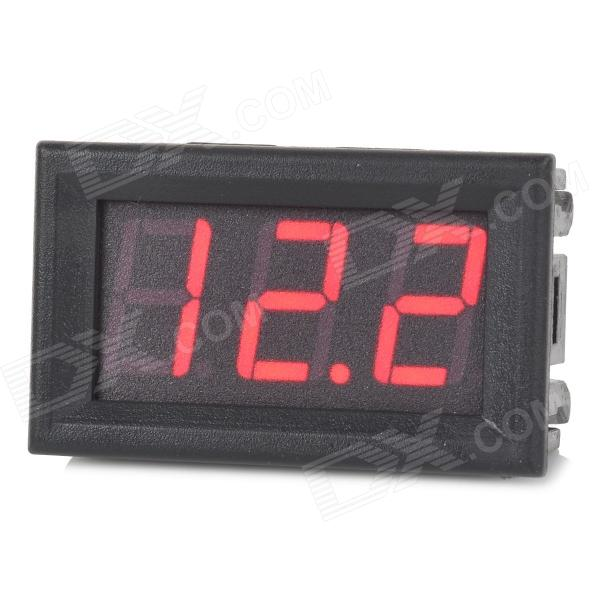 3-digit 0.56 DC 0~200V Voltage Display Module - Black (4.5V~30V) рубашка в клетку dc atura 3 atura black
