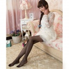 Ultrathin Core-spun Yarn Pantyhose - Black
