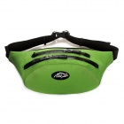 LKLR SPO-6603 Outdoor Casual Water Resistant Nylon Waist Bag - Green