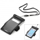 WP-320 Universal Waterproof Bag for Samsung / HTC / LG / IPHONE - Black