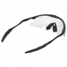 Outdoor Cycling Sunglasses Goggles - Transparent + Black