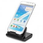 Multifunction Plastic Holder for IPHONE, Tablet PC + More - Black