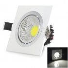 LSON T-05W Mini 5W 400LM 6000K White Light COB Ceiling Lamp - White + Black (AC 85~265V)