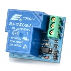 022301 12V 30A Normally Open Optocoupler Relay Module - Deep Blue