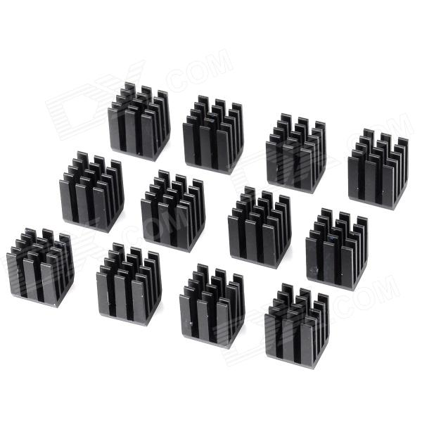 u-43-aluminum-alloy-heatsinks-for-computer-mainboard-gpu-black-12-pcs