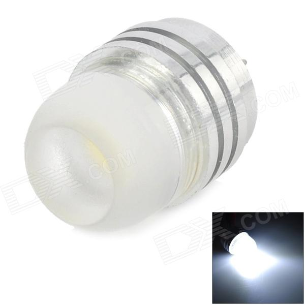 G4 2W 120LM 6000K 20MM White Light COB Lamp - Silver + Transparent (DC12V)