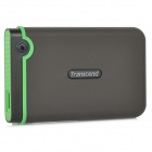 Transcend StoreJet 25M3 Anti-shock USB 3.0 Portable Hard Drive - Dark Brown (500GB)