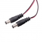 T Plug to 5.5mm DC Wire for Power Supply / Receiver / Monitor FPV - Black + Red