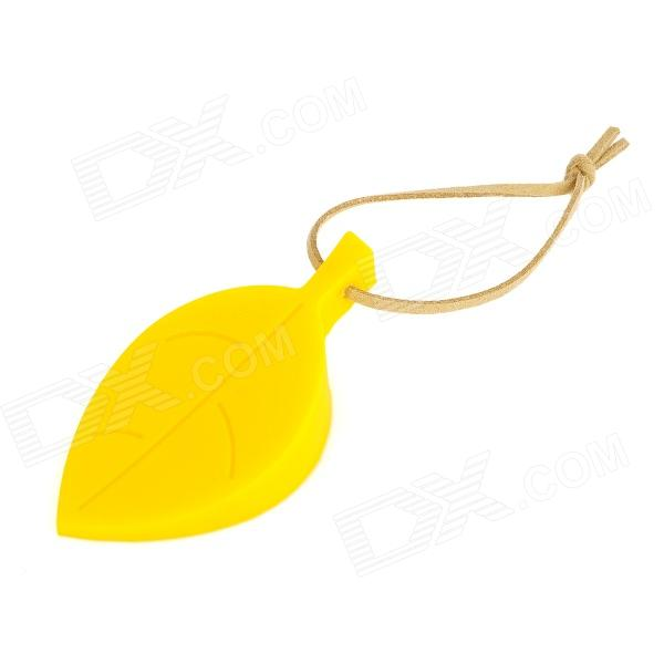 Leaf Style Silicone Door Stopper Guard - Yellow storm 47236 bk