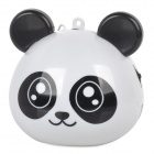 RX-Q1 Panda Style Multimedia Portable Speaker w/ TF Slot / FM Radio - White + Black