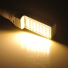 E27 7W 450LM 3000K Warm White 35-5050 SMD LED lámpara - blanco + amarillo (AC 85 ~ 265V)