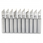 Bangye BY-900M-T-K Lead-free Constant Temperature Solder Tip - Silver (10 PCS)