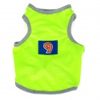 Breathable Fluorescent Mesh Dog Vest for Teddy / Poodles - Fluorescent Yellow (Size S)