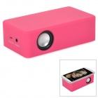 C20012 Auto-induction Rechargeable Speaker - Deep Pink (3 x AA)