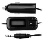 Bestphone 1101 automatic searching fm transmitter w/ usb output for car - black