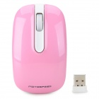 Motospeed G118 USB 2.0 Wireless 1200dpi LED Game Mouse - Pink (1 x AA)