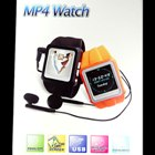 1.25in Color LCD MP4 Watch (Sporty Orange 1GB with FM)