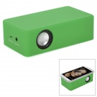 C20012 Auto-induction Rechargeable Speaker - Green (3 x AA)
