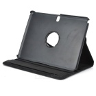 360 Degree Rotation PU Leather Case Cover Stand for Samsung Galaxy Tab Pro 10.1 T520 - Black