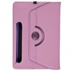 "Fashionable Universal PU leather Case Cover Stand for 7"" Tablet PC - Purple"