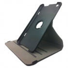 360 Degree Rotation Protective PU Leather Case Cover Stand w/ Card Slot for LG GPad 8.3 - Black