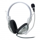 WeiLe WL-360MV Wired Stereo Headset Headphone w/ Mic - Black
