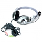 Weile WL-360MV Wired Auriculares estéreo de auriculares w / Mic - Negro